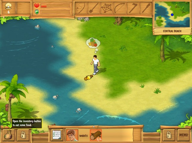 Shoot Boars, Gather Coconuts, And Master Fire In The Island: Castaway HD