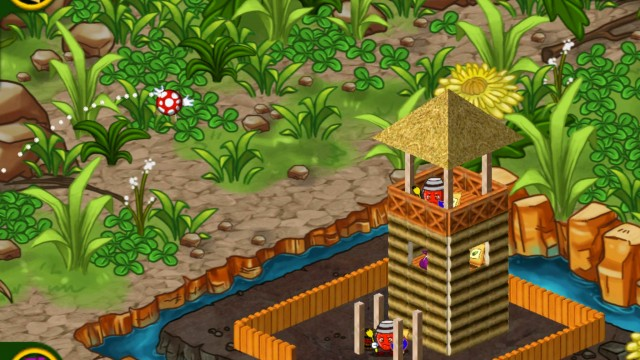 Catapult Explosive Fruits And Vegetables At Your Enemies In Picnic Wars HD