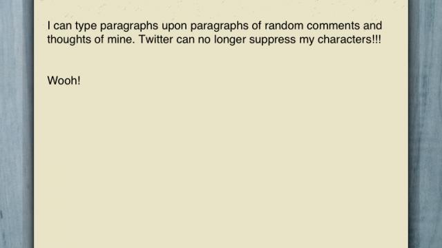 Scrivor Has A New Way Of Tweeting