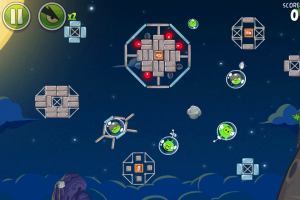 Angry Birds Space by Rovio Mobile Ltd. screenshot
