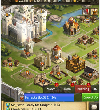 Building A Kingdom All In A Day's Work In Kingdoms Of Camelot