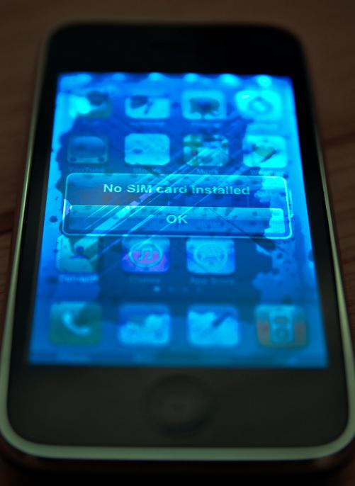 Water Damaged Iphone Screen