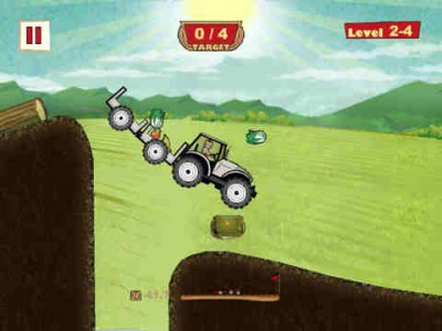 This Old Tractor Boasts A New Engine ... A New Physics Engine