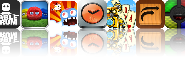 Today's Apps Gone Free: TableDrum, Fling!, Hello Copter, And More