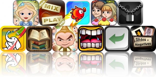 Today's Apps Gone Free: Grimm's Rapunzel, Mixplay, Me Red, And More