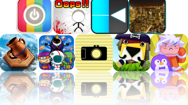 Today's Apps Gone Free: AppStart For iPad, Mr. Oops!!, Precision, And More