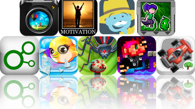 Today's Apps Gone Free: HDR FX, Motivational Poster, ABC Expedition, And More