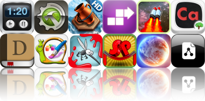 Today's Apps Gone Free: Sessions: Time Tracker, Total Defense 3D, Azkend HD, And More