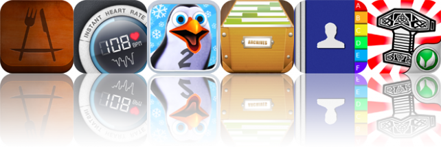 Today's Apps Gone Free: Appetites, Instant Heart Rate, Puzzling Penguins 2, And More