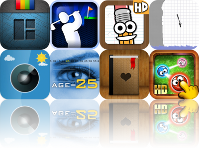 Today's Apps Gone Free: InFrame Foto, Super Stickman Golf, Save The Pencil HD, And More