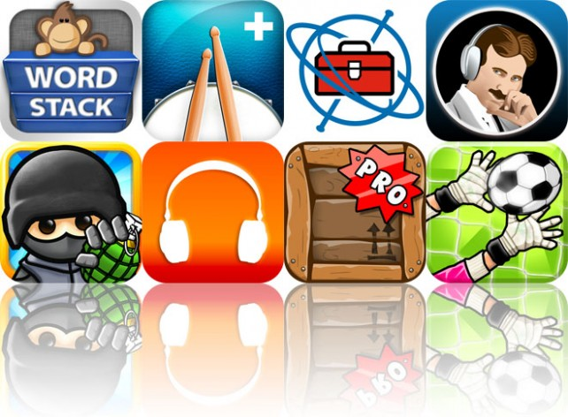 Today's Apps Gone Free: Word Stack, Beats, Gyroscope Toolbox HD, And More