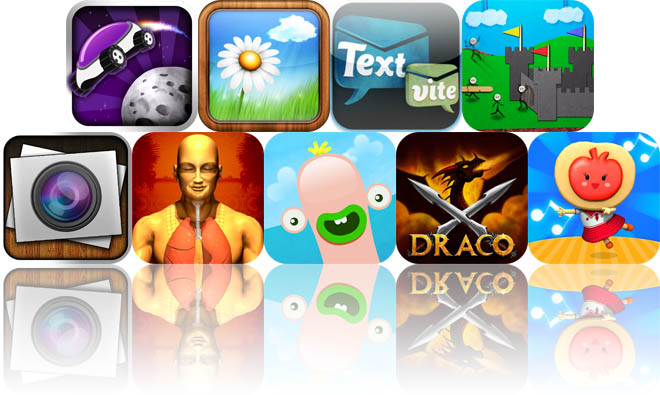 Today's Apps Gone Free: Lunar Racer, Serenity, TextVite, And More