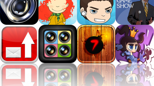 Today's Apps Gone Free: Fast Camera, Rainy Days, Track Lapse, And More
