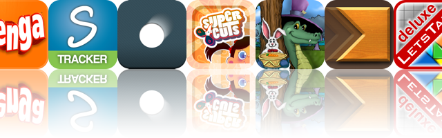 Today's Apps Gone Free: Jenga, Stress Tracker, Tapbounce, And More