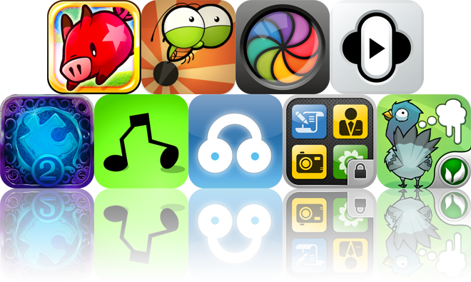 Today's Apps Gone Free: FlickPig, Jump Out!, SpinCam, And More