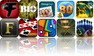 Today's Apps Gone Free: FiLMiC Pro, Biography, GroupShot, And More