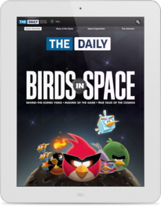 The Daily Launches Angry Birds Space Guide
