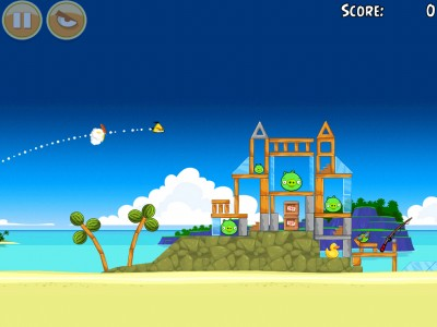 Take A Break And Join The Angry Birds For Some Sandy Fun In Surf And Turf