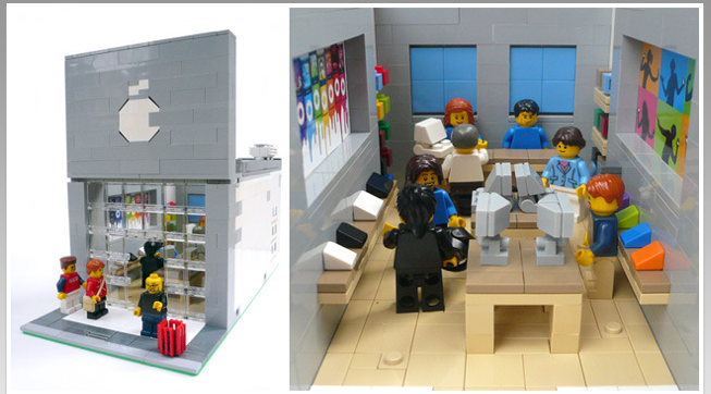 Show Some 'Kickstarter' Love For The Lego Modular Apple Store