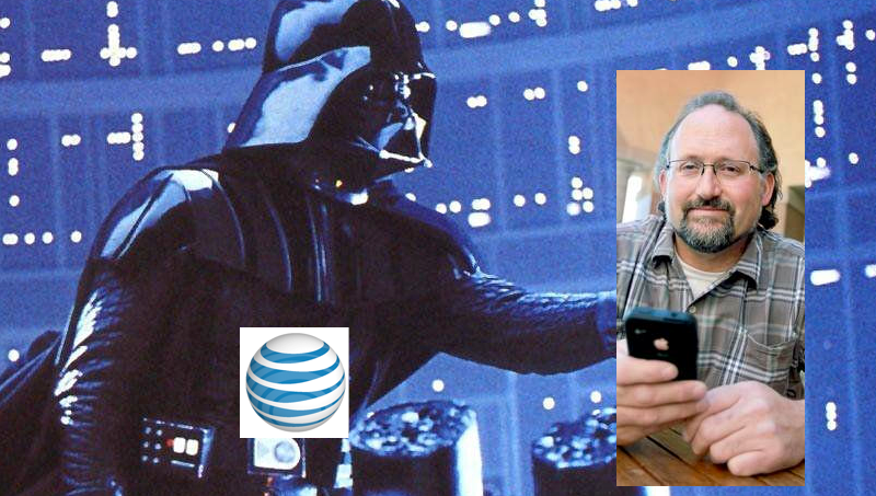 AT&T Tells Customer It Will Shut Off His Service Over Throttling