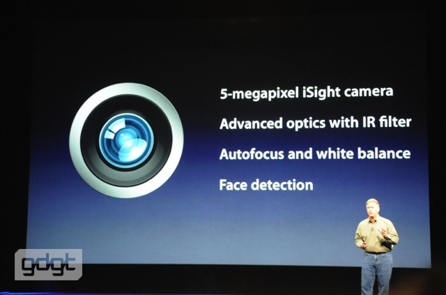 New iPad Features 5-Megapixel Camera and 1080p Video