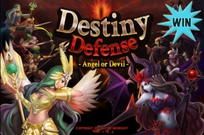 A Chance To Win Destiny Defense: Angel Or Devil For iPhone