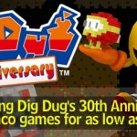 Namco Bandai Celebrates 30 Years Of Dig Dug By Putting Many Of Their Classics On Sale