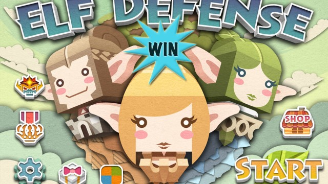 A Chance To Win A $10 iTunes Gift Card To Be Used Towards In-Game Content In Elf Defense