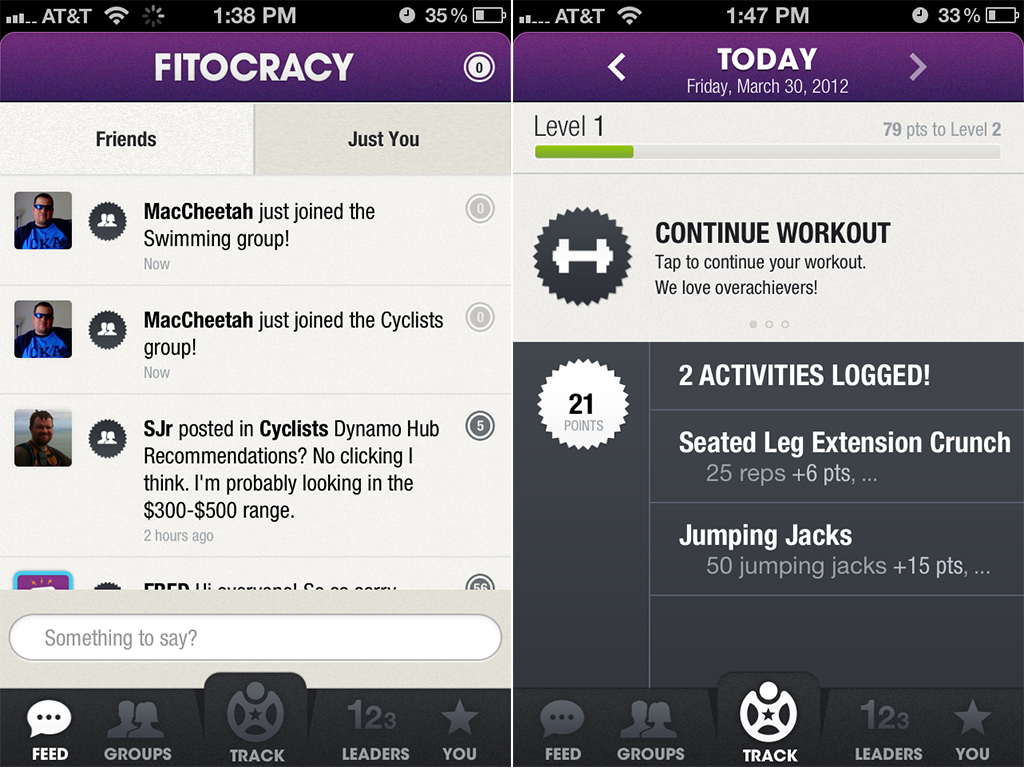 Exercising Becomes An RPG-Style Adventure With The Fitocracy Fitness App