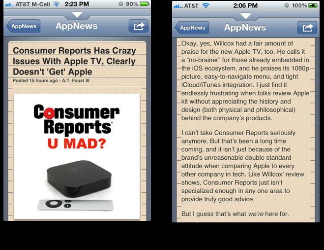 AppAdvice app