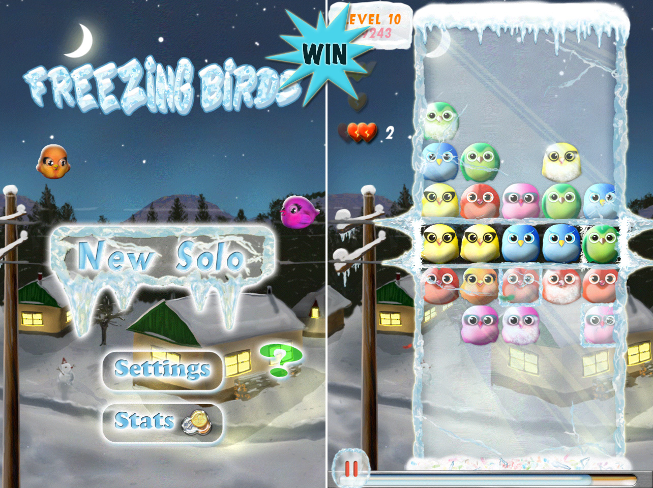 A Chance To Win Freezing Birds For iPhone And iPad