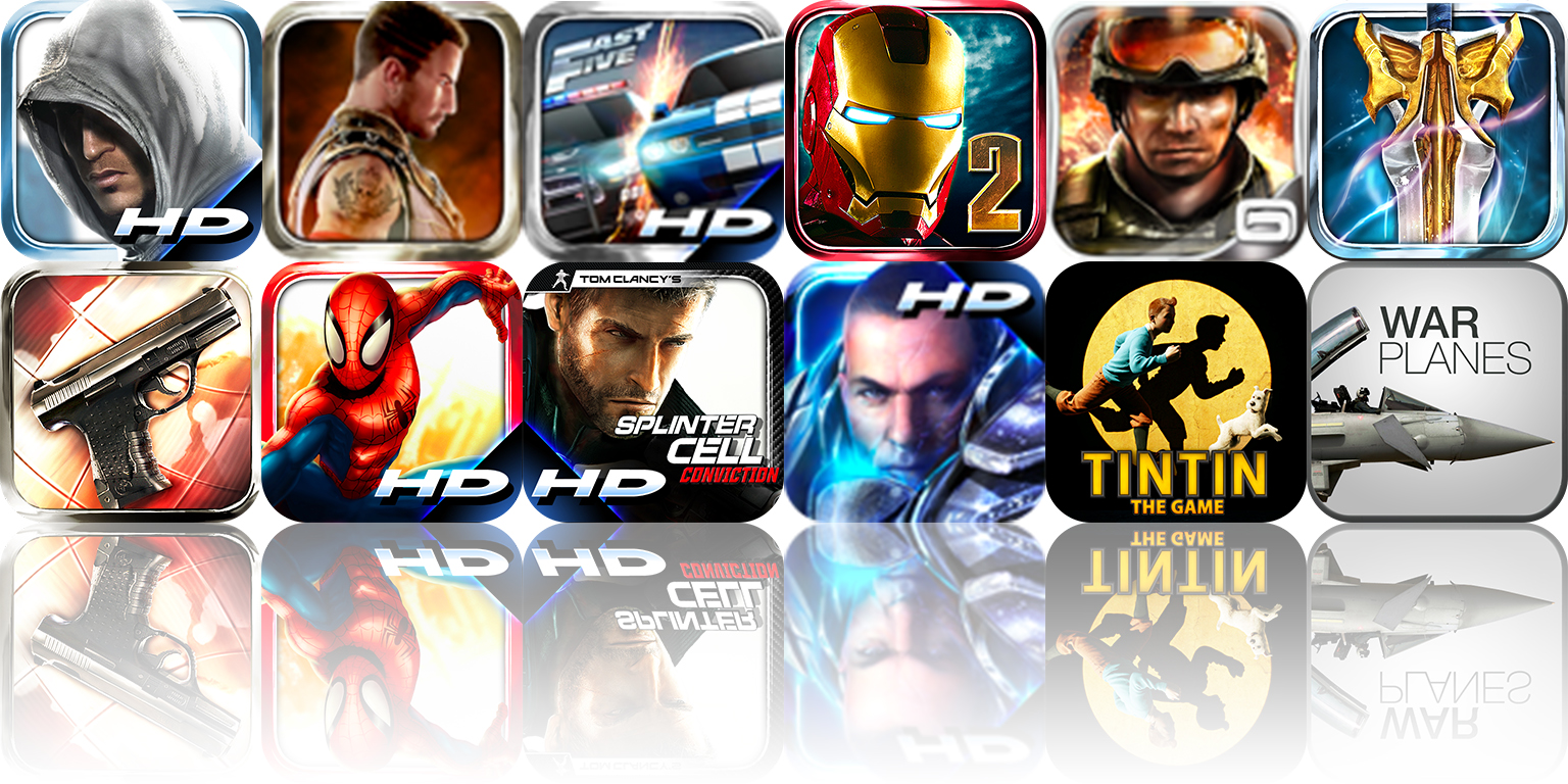 Gameloft Is Celebrating The New iPad With Huge Discounts On A Dozen Of Their Popular Games