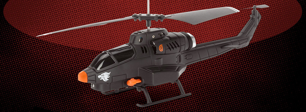 Griffin Launches The Helo TC Assault App-Controlled Mini RC Helicopter