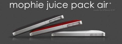 Product Review: Mophie Juice Pack Air For iPhone 4