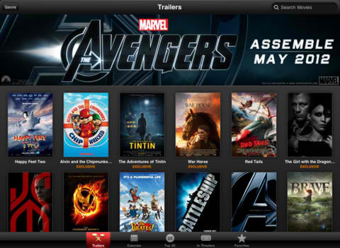 Now Showing On Your New iPad: Movie Trailers With Retina Graphics