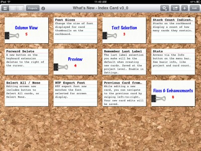 DenVog Adds Tons Of New Features And Enhancements To Their Acclaimed Note-Taking App, Index Card