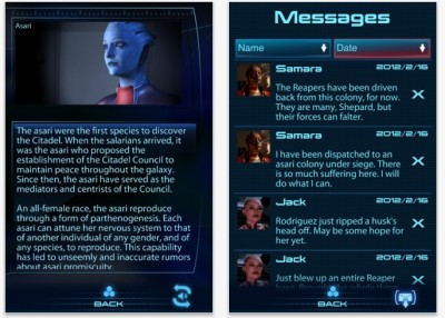 EA Releases Mass Effect 3 Datapad For iOS