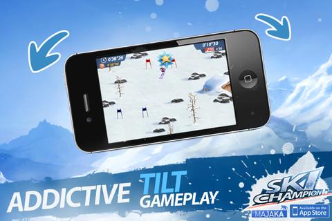 Ski Champion Speeds Its Way Onto Your iPhone