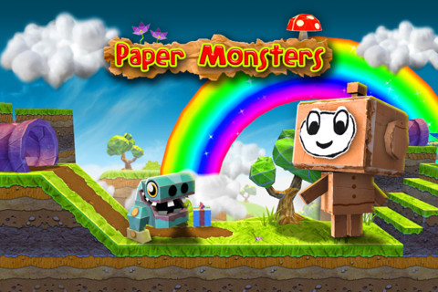 Paper Monsters Gets Some Retina Display Love And More