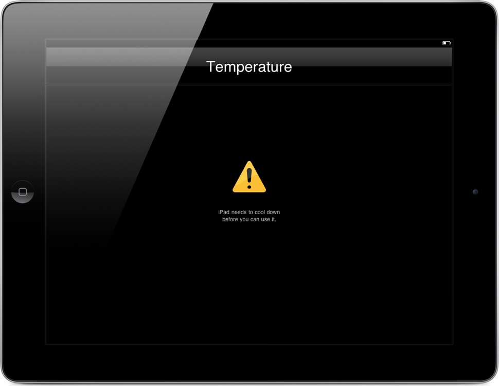 Is Your New iPad Overheating?
