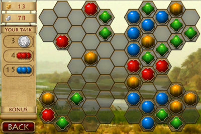 Hexus! From Big Fish Games Is Now Now Available For the iPhone