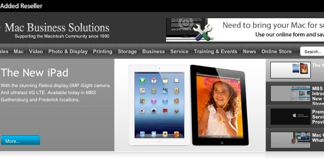 The Lesser Known iPad Dealers
