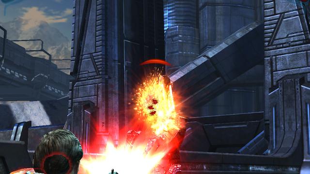 Mass Effect Infiltrator, Not The Same As Mass Effect 3 But A Fantastic Companion App
