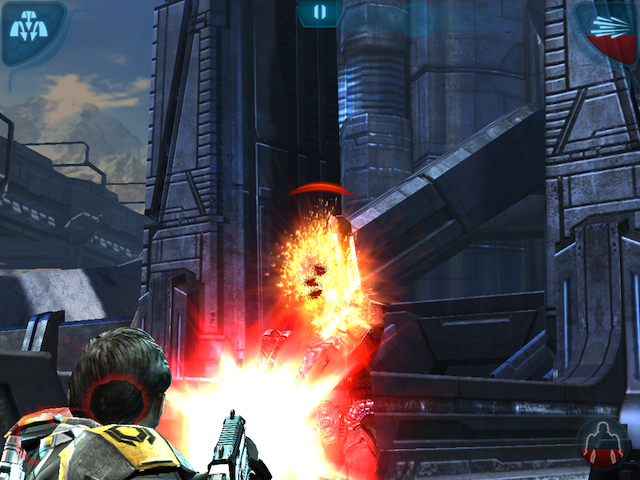 Mass Effect Infiltrator, Not The Same As Mass Effect 3 But A Fantastic Companion App
