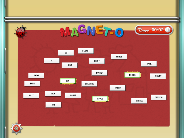 Magnet-O Is Word Art That Won't Fall Off The Fridge Every Time You Open The Door