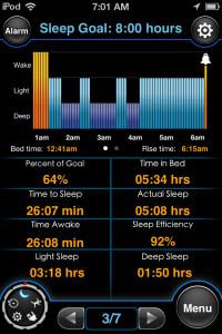 Monitor Your Sleep Cycle To Wake Up Refreshed With MotionX Sleep