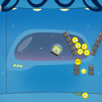 Cute Meets Tough In This Knock Down Game Of Physics