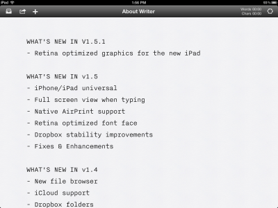 The Updated iA Writer Looks Mighty Fine On That New Retina Display