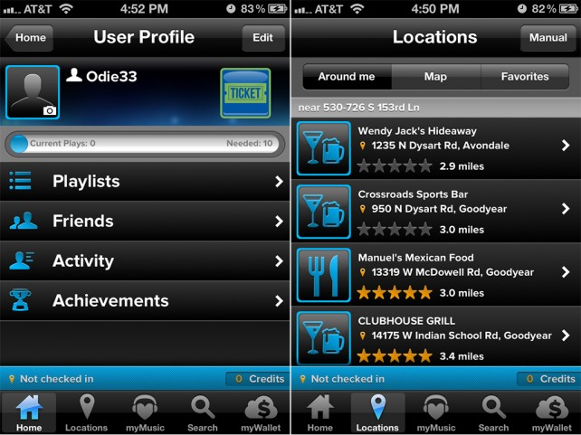 The UI Of TouchTunes For iOS Has Been Reworked To Provide Even More Convenience
