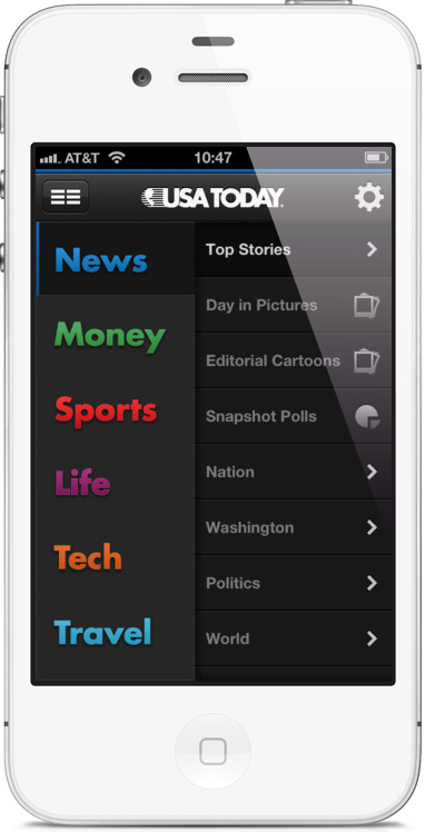 USA TODAY for iPhone Debuts